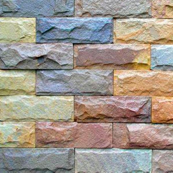 Фасадный Цветной кирпич