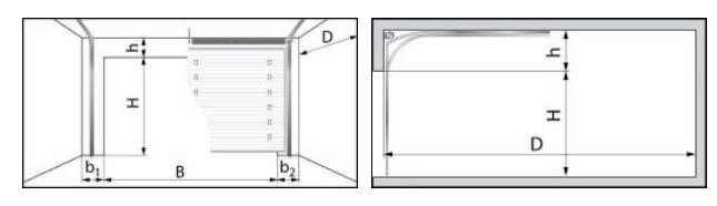Гаражные секционные ворота DoorHan серии RSD01