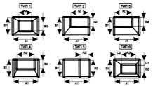 Вентиляция прямоугольная Переход прямоугольный ВППП