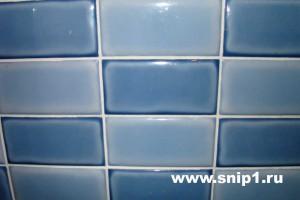 плитка голубая
