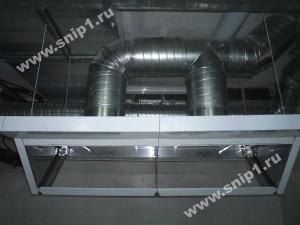 Система подключения вентиляции