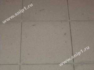 Уложенная керамическая плитка