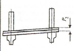 Рельсы и соседние колонны