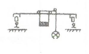 Модульногрейферный кран