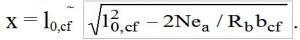 формула сжатой зоны