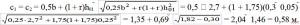 формула определения нижней ступени