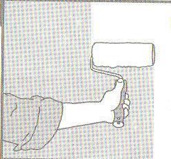 Огрунтовка перед поклейкой флезииновых обоев