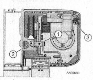 Монтаж крышки привода