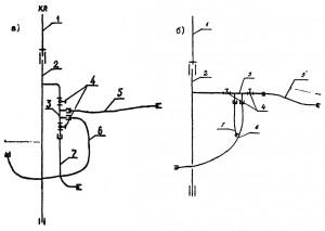 Схема коллекторной системы холодного водопровода