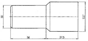 Патрубок сифона