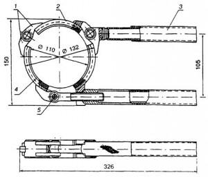 Приспособление для монтажа труб