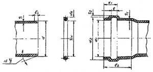 Соединение труб и патрубков из ПВХ