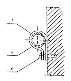 Рисунок 8 - Крепление магистральных трубопроводов.  4.1 Режимы и последовательность гидростатических(гидравлических)...