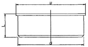 полипропиленовая заглушка