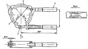 Приспособление для монтажа пластмассовых труб