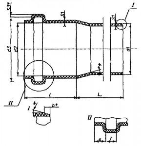 Сортамент канализационных полипропиленовых труб