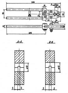 Ручное устройство для изготовления ниппельных соединений