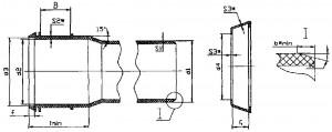 Раструб фасонных деталей