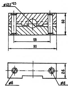Пресс-форма для изготовления ниппельных соединений