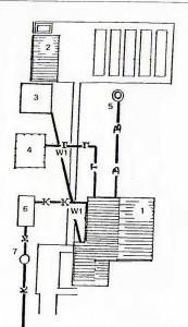 План одноквартирного жилого дома