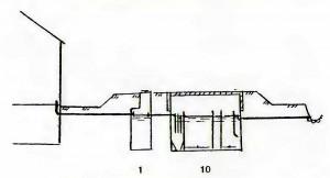 Установка заводского изготовления подземная