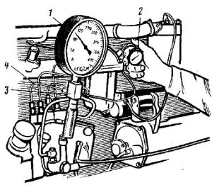 Проверка герметичности топливной системы топливного насоса