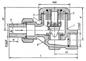 Конденсатоотводчик термостатический с муфтовым
