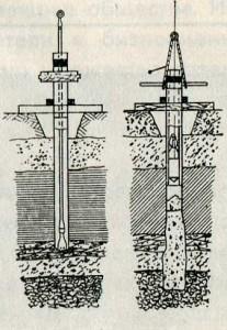 Буронабивные сваи, 1901 г.