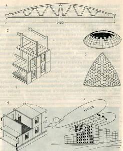 Виды сборных железобетонных конструкций