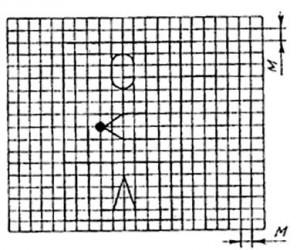 модульной сетки М