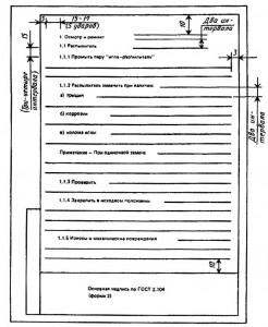 Пример выполнения текстового документа