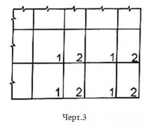 Элементы одинаковых размеров, формы, материала и обработки поверхности