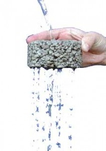 Пористый-бетон