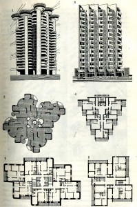 Объёмно – планировочные решения жилых домов