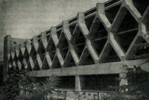 Оригинальная структура фасада