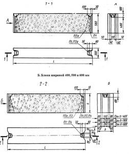 Блоки шириной 300 мм