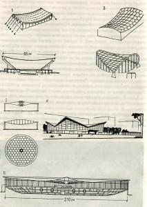 Основные типы и формы покрытий с использованием железобетонных с сталежелезобетонных конструкций