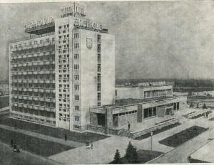 Моноблочные здания гостиницы