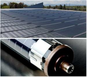 Солнечне батареи для крыши