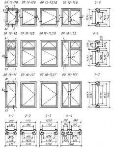 Конструкция, форма, основные размеры