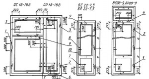 петля ПВ1-100 для внутренних створок и