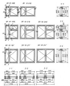 балконных дверей общественных зданий