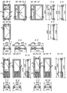 типы балконных дверей
