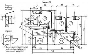 отверстие диаметром 10 мм для отвода воды