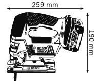 пила 14,4 В GST 14,4 V-LI Professional