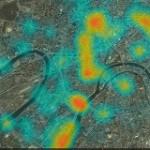 Тепловая карта Москвы