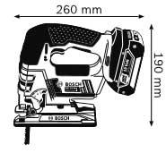 В GST 18 V-LI Professional