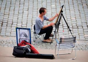 уличные худжники