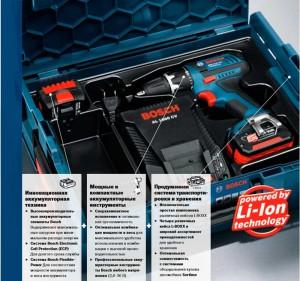 Профессиональные аккумуляторные инструменты Bosch