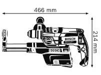 Габариты, Ударная дрель GSB 19-2 REA Professional